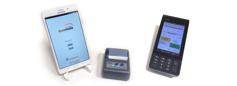 Real-time bus ticketing POS machines